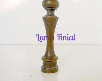 Antique Lamp finial Vintage Brass Lamp Finial