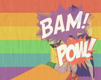 BAM POW Love Wins