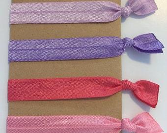 Emi Jay Inspired Hair Ties: Hyacinth, Lilac, Bubblegum, and Watermelon