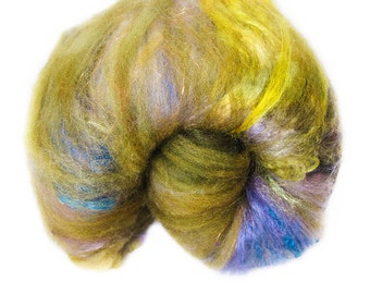 Earthstar - Art Batt Spinning Felting Fiber