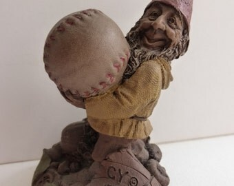 Vintage Cairn Studio Tom Clark Gnome Baseball Pitcher Cy Young