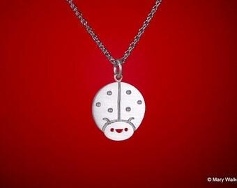 Lucky Ladybug Necklace