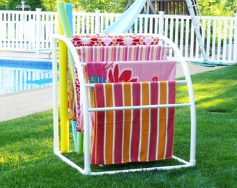 Pool Towel Rack Ideas outdoor pool towel rack 7 Bar Curved Towelmaid Rack