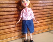 Ooak doll clothes fits bratz and moxie girls type dolls rescued doll clothes