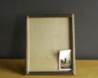 Simple Frame - Empty Brass Frame - Vintage Picture Frame