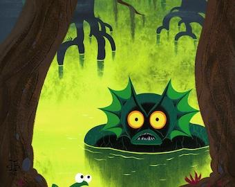 Mer Swamp - Print