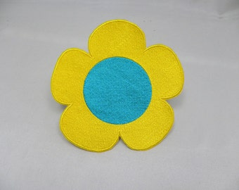6.5 inch Mandy's sunflower replica patch