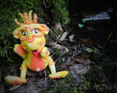 Polymer Clay Dragon 'Sunshine' - Limited Edition Collectible