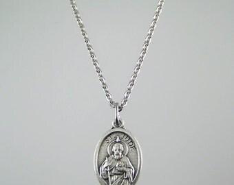 Saint Jude Medal Necklace