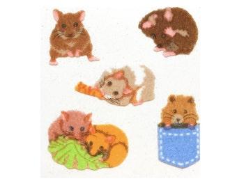 FUZZY - hamsters - SANDYLION sticker