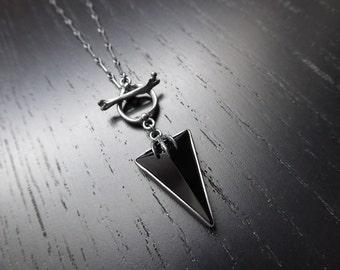 Hexen Pendant - Onyx