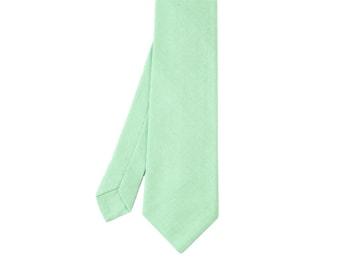 Florent - Mint Green Men's Tie