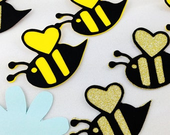 Bumblebees for your scrapbook/album/party decor
