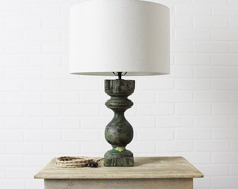 Lamp made from Vintage Architectural Salvage Baluster