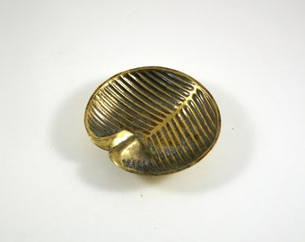Ben Seibel Gramercy Parke for Raymor Brass Ashtray - Jenfred Ware