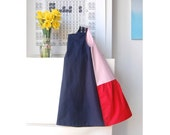 FREE SHIPPING tricolor modern dress