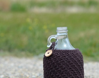 Beer Growler Cozy, 64 oz Half Gallon Growler Cozy, Beer Growler Carrier, Beer Accessories, Growler Holder, Growler Accessory