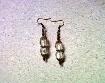 Crystal White Earrings (2074)