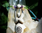 Divine Goddess Of Protection Native Made Necklace