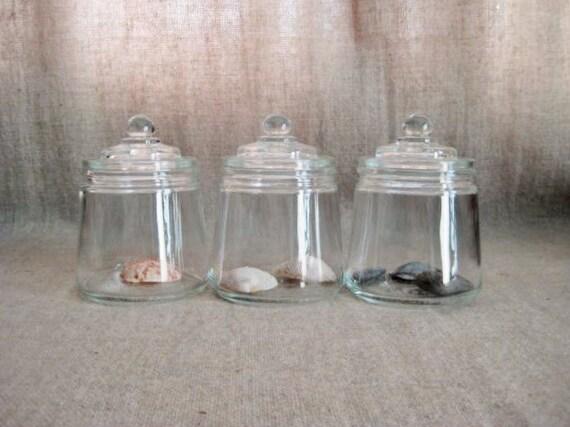 vintage small glass jar eBay