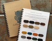 Littlewings Designs 2015 Swatch and Color Set- Look here for COLOR OPTIONS- leather, fabric, yarn sample book