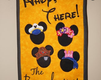 "Door Spotter ""Ahoy There""  For Your Disney Cruise Or Anywhere.  Helps Spot Your Door!"