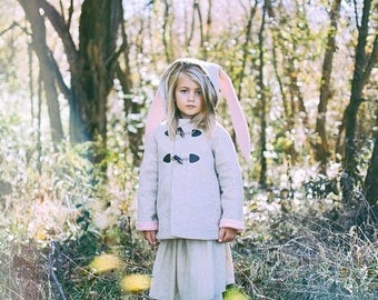 Snowshoe Rabbit Girls Coat
