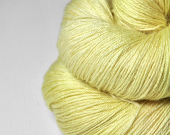 Plant embryo OOAK - BFL Sock Yarn Superwash