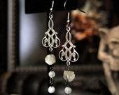 """Moon Dust Earrings 3"""""""