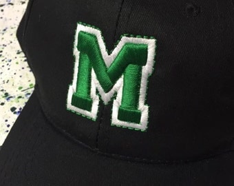 Sports Team Custom Colors and 3D letters Ball Cap Hat