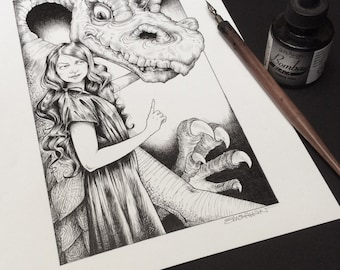 Dragon, Original Art