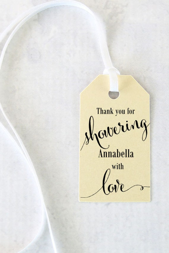 Thank You For The Wedding Gift In Italian : ... Gift Tags, Bath Salts Tag, Thank you, Soap TagsSet of 25 (SMGT