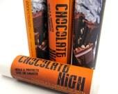 "Chocolate Orange - ""CHOCOLATE HIGH"" - vegan natural candelilla"