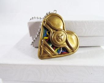 C3PO necklace, Star Wars jewelry, star wars, C3PO