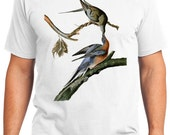 Passenger Pigeon Bird Retro Men & Ladies T-shirt - Gift for Bird Lovers and Ornithologist (idc062)