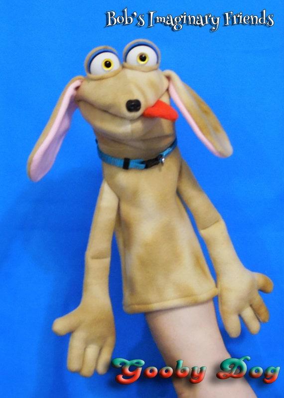 Gooby Dog  Hand Puppet or Ventriloquist Puppet Custom order