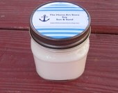 SALE - 8 oz Soy Sun and Sand Container Candle