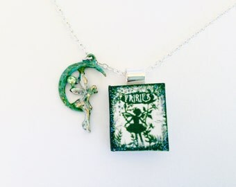 Fairy Book Necklace