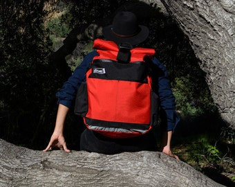 Large Roll Top Backpack