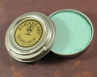 Gilders Paste - PATINA Gilders Paste - 1.5oz tin - Metal Colorant