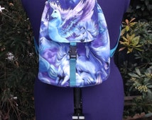 unicorn backpack small. unicorns pegasus adjustable straps last one UK seller