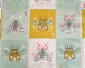 Tokyo Train Ride Flight in Natural and Multi, Sarah Watts, Cotton+Steel, RJR Fabrics, 100% Cotton Fabric, 2007-1