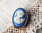 Vintage - Handcrafted Victorian Lady Jewelry Case