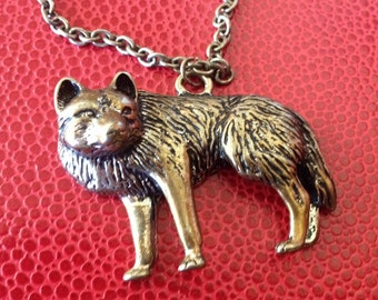 For The One Who Runs With Wolves Necklace