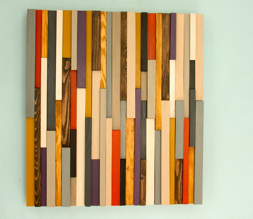 Abstract Wood Wall Art - Elitflat