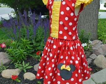 Minnie Mouse Dress, Red