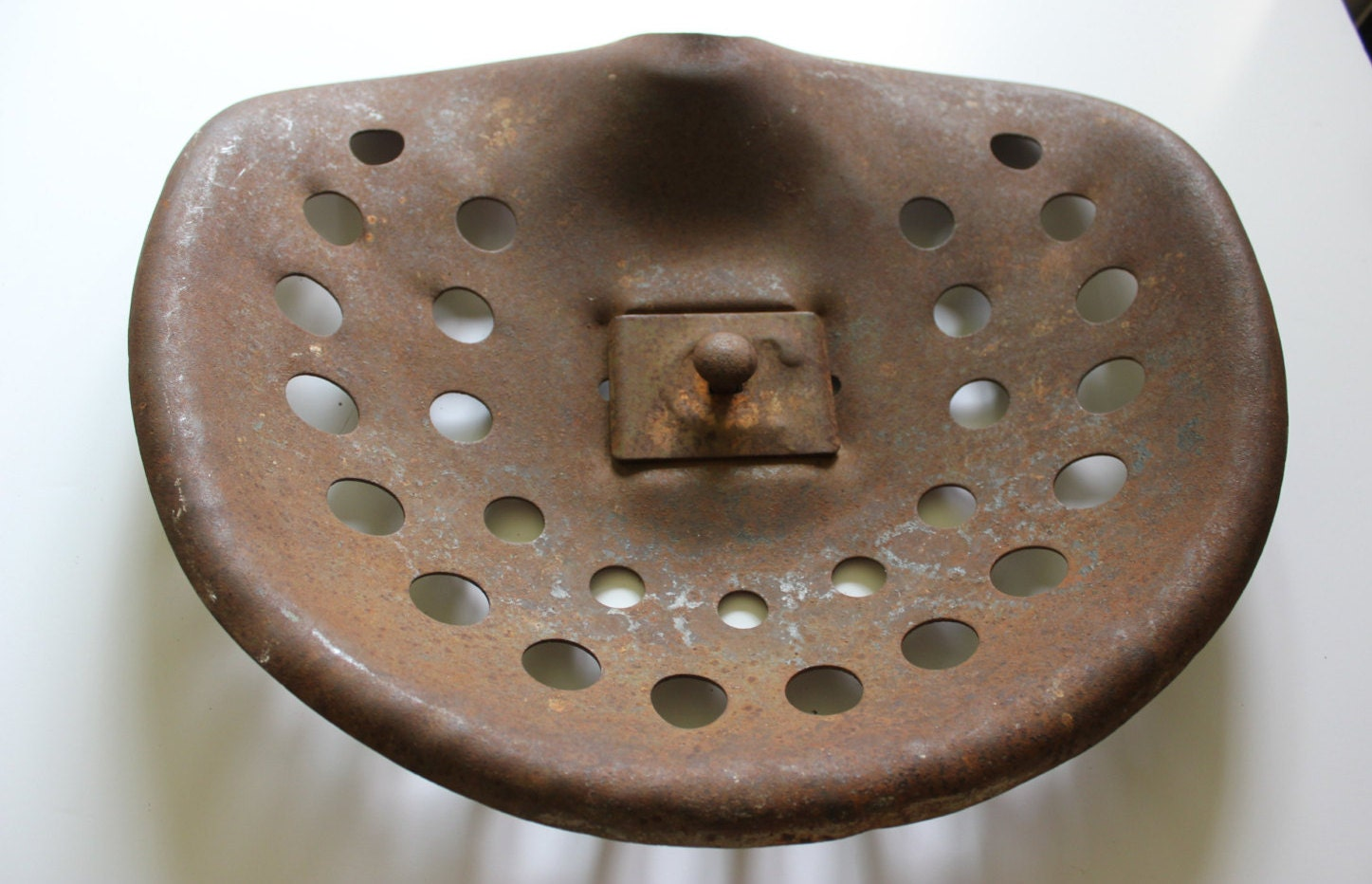 Old Tractor Seats : Tractor seat antique farm equipment