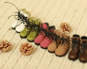 Miss yo handmade Workman Boots for YoSD 1/6 BJD - doll doll shoes - 5 colors in