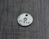 No.19 // Custom Metal Dog Tag // Handmade Pet Tag // ID Tag