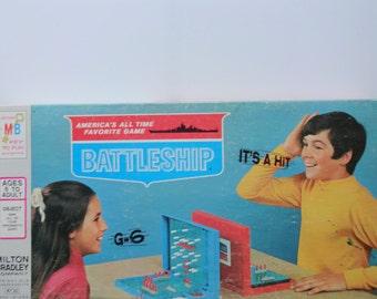 Vintage Milton Bradley's Battleship Board Game 1971